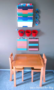 kids u0027 craft corner reveal organize kids craft corner and organizing