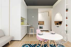 micro apartments this 29 5 sqm micro apartment has a multifunctional moving wall