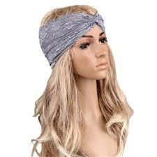lace headband 2018 hot sale women headwear twist sport lace headband turban