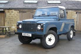 land rover pickup for sale defender 300 tdi with low miles jake wright ltd specialists in