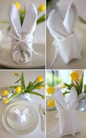 easter napkins how to make an easter bunny napkin easter napkins freda stair