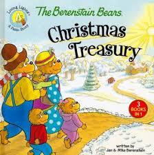 berenstien bears berenstain bears christmas treasury jan berenstain mike berenstain