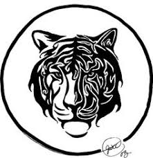 running tiger tribal commission by insaneroman on deviantart