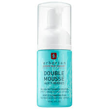 double mousse gentle cleansing foam erborian sephora