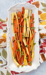 roasted carrots parsnips italian food forever
