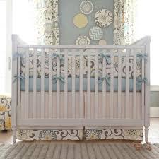 spa pom pon play crib skirt box pleat carousel designs