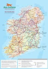 Map Ireland Ireland Bus Map Ireland Map