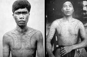 two ifugao with chaklag tattoos ca 1900 the ifugao were