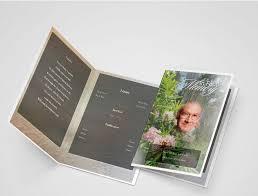 funeral program printing creeper funeral program template funeral program template