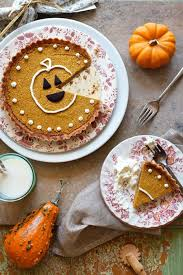 pumpkin pie tart with almond crust marla meridith