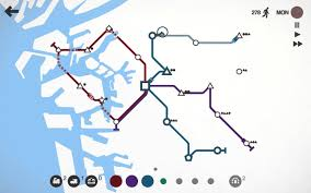 Osaka Subway Map by Mini Metro Osaka Youtube