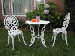 Aluminum Cast Patio Dining Sets - cast aluminum outdoor patio furniture 3 piece bistro set e