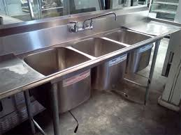 Tips On How To Properly Utilize A ThreeCompartment Sink Food - Three compartment kitchen sink