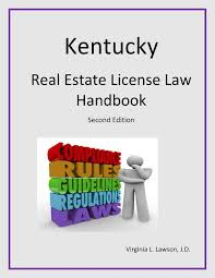 kentucky real estate license law handbook second edition