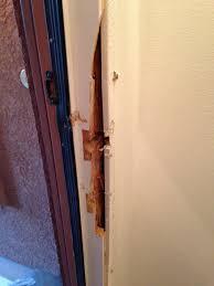 Repair Interior Door Frame How To Fix A Broken Interior Door Frame Best Accessories Home 2017
