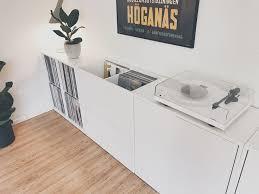 Ikea Shelf Hacks by Best 25 Ikea Vinyl Storage Ideas On Pinterest Ikea Record