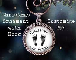 baby keepsake ornaments baby loss ornament etsy