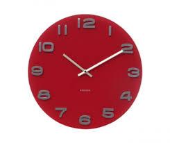 pendule de cuisine moderne horloge de cuisine moderne horloge ronde fractale florale de paon
