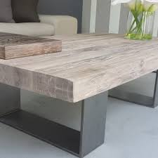 Distressed Oak Coffee Table Metal Wood Coffee Table With Wood And Metal Coffee Tables