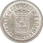 chambre du commerce evreux 10 centimes chambre de commerce evreux 27 notgeld