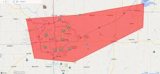 Peco Power Outage Map Westar Outage Map Westar Energy Adds Outage Map And Outage