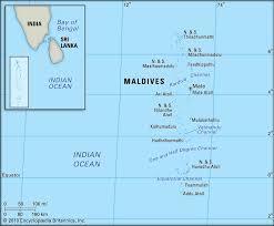 Map Of Maldives Maldives Location Kids Encyclopedia Children U0027s Homework Help
