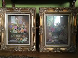 very rare large home interior beautiful floral pictures by albert