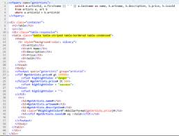 Bootstrap Table Class How To Use The Bootstrap Framework Part 1