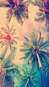 false color coconut trees iphone 6 wallpaper hd free