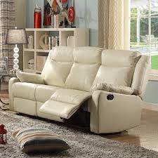 Reclining Sofa Leather Modern Leather Recliner Sofa Home And Textiles