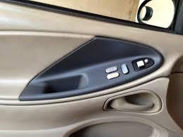 mustang door panel mustang door panel insert charcoal left side 99 04 coupe