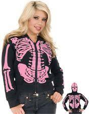 Womens Skeleton Costume Womens Skeleton Hoodie Ebay