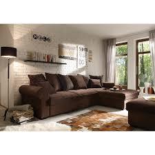 wohnlandschaft 300x300 ecksofa canyon wohnlandschaft sofa in braun schwarzbraun beige mit