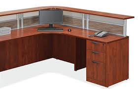 Two Person Reception Desk Office Source Borders Ii Series 2 Person Reception Desk