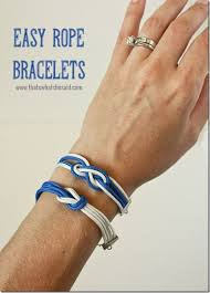 make bracelet from rope images Diy easy rope bracelets that 39 s what che said jpg