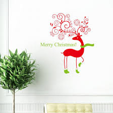 amazon com christmas monkey and owl christmas owl on branches dzt1968 wall quotes decal wall sticker christmas removable vinyl art window wall sticker decals home decor