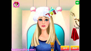barbie games to play barbie hair caring games youtube