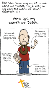 marks of jesus draw for god