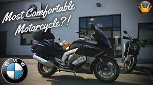 Most Comfortable Motorcycles 2016 Bmw K1600 Gtl First Ride U0026 Review Youtube