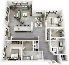luxury floorplans 50 two 2 bedroom apartment house plans architecture design