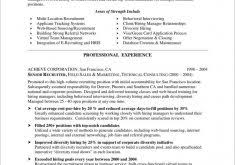 Recruiter Resume Samples by Fancy Idea Cook Resume Sample 3 Chef Sample Examples Sous Jobs