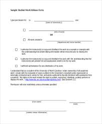 sample work release form 10 free documents in word pdfsample
