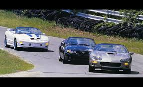 1999 ford mustang cobra convertible vs chevrolet camaro ss