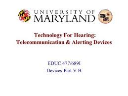 Virginia Department For The Blind And Vision Impaired Communication And Alerting Technology For Deafblind People