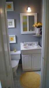 bathroom decor tips on a budget love this gray and red