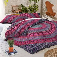 Bed Quilts Online India Amazon Com Madhu International Duvet Cover Bohemian Home U0026 Kitchen
