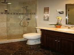 charming dark brown bathroom floor tile also design home interior