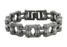 white chain bracelet images Motorcycle bike chain bracelets biker jewelry wholesale stainless jpg