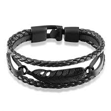 antique jewelry bracelet images Livvy 2017 punk design leather bracelet with wings antique jewelry jpg