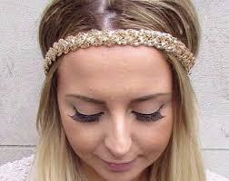 chain headband chain headband etsy